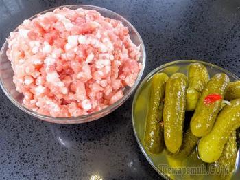 Не печем, не жарим, да еще и с огурцами! Вкуснятина из фарша - польский рецепт на Другой Кухне