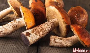Похудеть на грибной диете