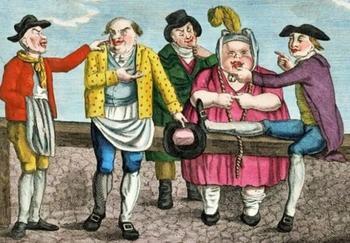 Радикальные меры: как в Англии от надоевших жён избавлялись