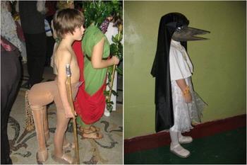Безумные фотографии с детских утренников