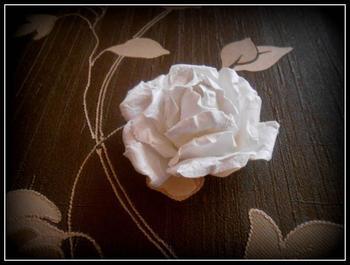 Розы из акварельной бумаги