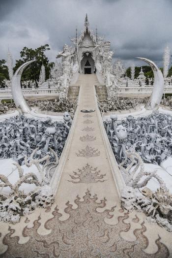 Ват Ронг Кхун: белая жемчужина Таиланда