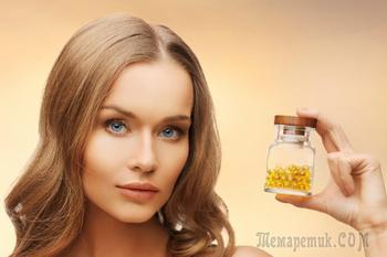 4 витамина для здоровья и красоты волос