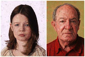 Удивительные портреты от Кейси Завальи