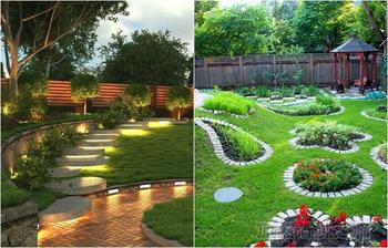 20 вдохновляющих идей, которые помогут превратить в зеленый оазис даже крошечный дворик