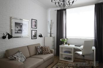 Совмещаем разные стили: квартира в Москве