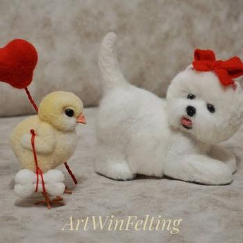 Войлочные животные от белорусской художницы Ирины Артвин