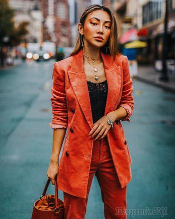 17 сочных примеров с чем носить оранжевый и выглядеть бесподобно