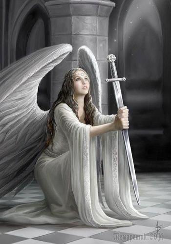 И крылом касаясь небес... (Стих)