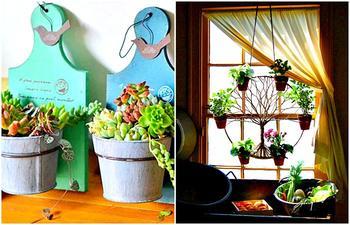 Идеи, которые помогут превратить дом в цветущий оаз