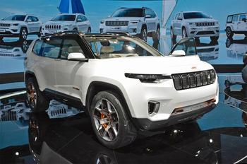 Концепт Jeep Yuntu – возроджение модели Wagoneer?