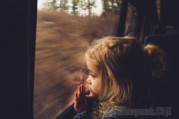 Трогательные портреты, снятые у окна поезда