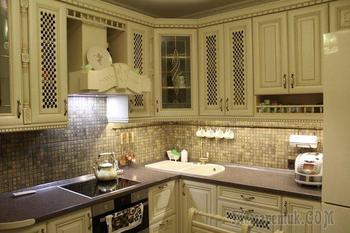 Кухня: светлая классика на 9,6 квадратных метра