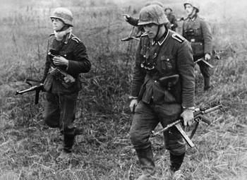 В чем заключался главный недостаток немецкого пистолета-пулемета MP-40