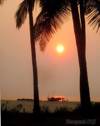 ГОА: медитация на закат.