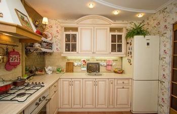 Дизайн кухни с площадью в 9 квадратных метров