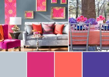 Сочетание цветов в интерьере – цветовая палитра для оформления и немного теории