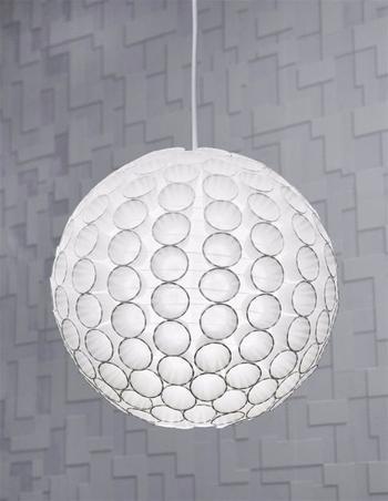Светильник из бумажных стаканчиков