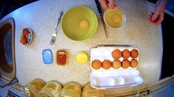 Интересная, но очень простая яичница «Баллы гайганаг»!