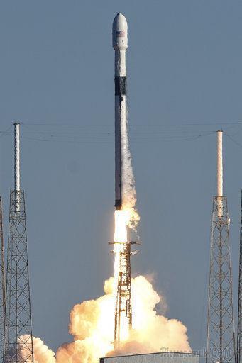 Компания SpaceX запустила в космос спутник системы GPS нового поколения