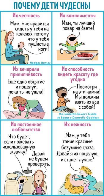 17 комиксов от мамы троих детей, которая знает все о непростой жизни родителей