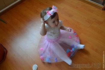 Шьем детскую юбочку с сюрпризом. Легко и сказочно красиво