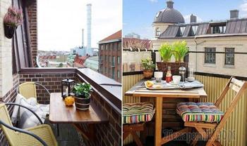 16 нестандартных идей, как обустроить небольшой балкон своими силами