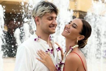 Ольга Бузова вышла замуж на Мальдивах