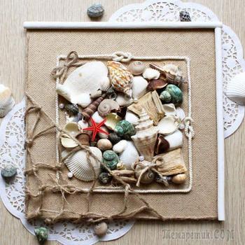 Панно из природных материалов: потрясающие идеи для шедевров своими руками