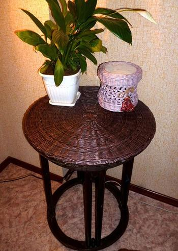 Реставрация старого кофейного столика