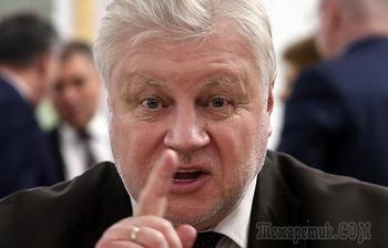 Миронов призвал детей войны потребовать компенсацию от Германии за потерянное детство