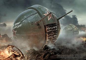 Оригинальный и ненужный: почему советский танк-шар так и не был достроен