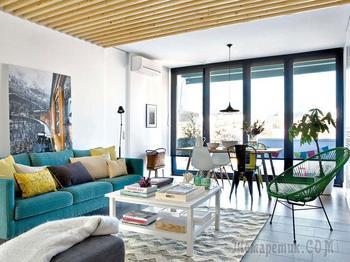 Яркая просторная квартира в Испании