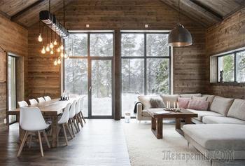 Уютный скандинавский коттедж