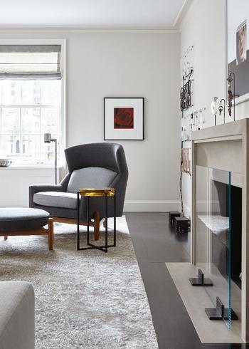 Уютная элегантность современных апартаментов в Нью-Йорке