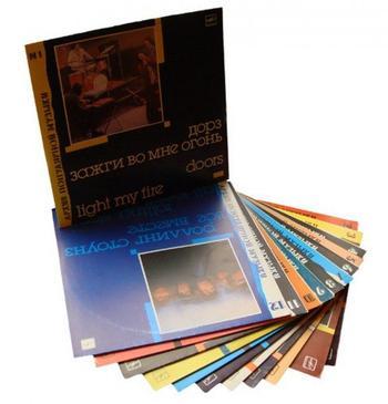 Серия пластинок «Архив популярной музыки» фирмы «Мелодия»
