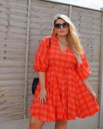 Модные летние платья для полных красавиц 2021