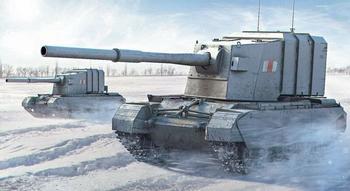 Топ-5 самых неудачных британских бронемонстров Второй мировой