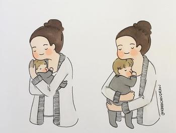 16 иллюстраций, показывающих простые, но такие дорогие сердцу моменты родительства