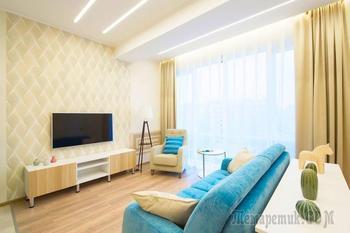 Светлые и уютные апартаменты рядом с морем