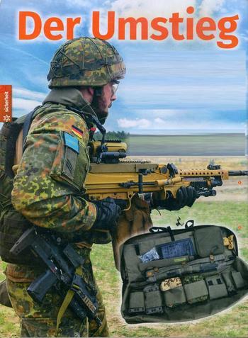 Пулемёт MG5 поступает в войска ФРГ