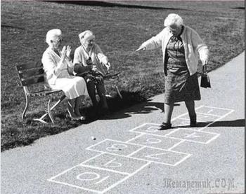 У старости - свои радости (Стих)