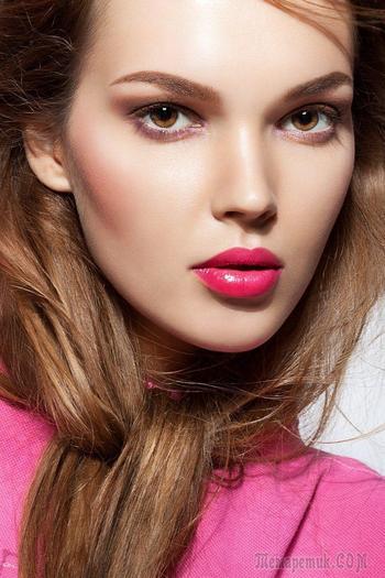 Милый розовый макияж на все случаи жизни