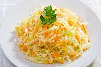 Простой и вкусный Салат капустный