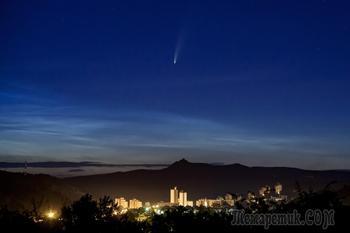 Комета мистера Койямы.