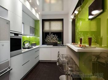 Дизайн маленькой кухни: идеи оформления