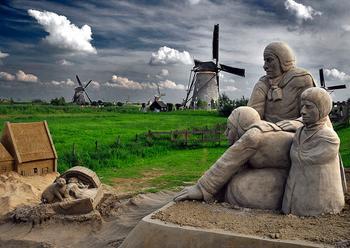 Песчаные скульптуры в фотографиях
