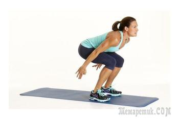 8 упражнений для похудения бедер и укрепления ягодиц