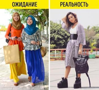 12 фотографий, которые расскажут о том, как выглядят модницы в разных странах