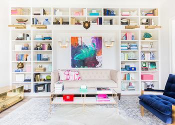 Идиллия цвета и превосходная нежность в интерьере дома в США